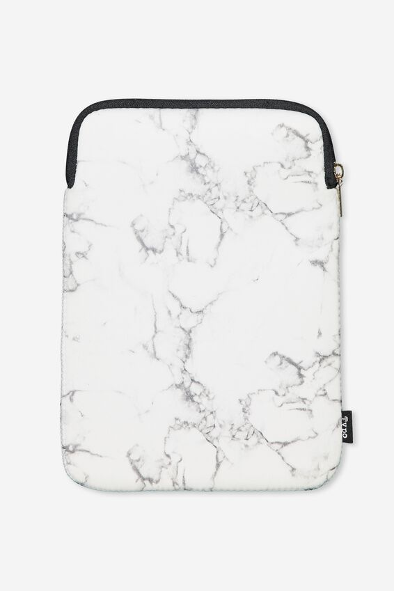 Tablet Sleeve 10 Inch, MARBLE