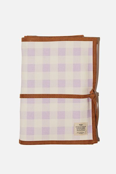 Artists  Marker Case 36, GINGHAM PALE LILAC