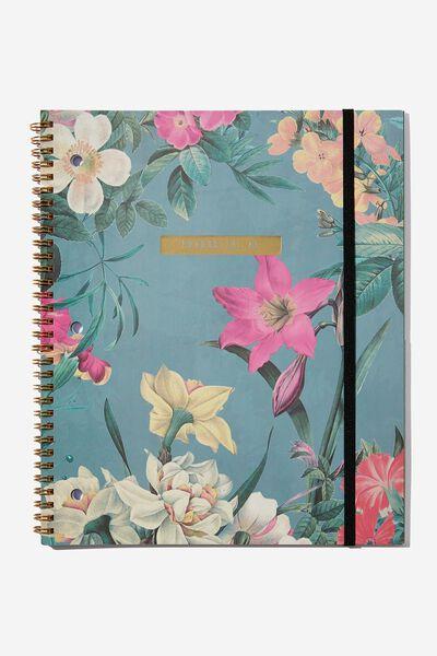 College Ruled Spinout Notebook V, PRODUCTIVE AF!!