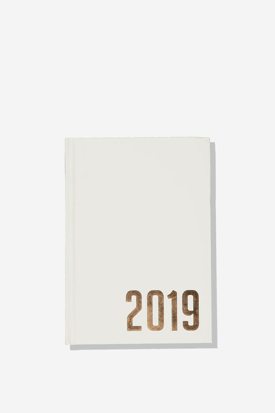 2019 Daily List Planner, GREY