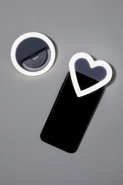 Selfie Get Lit Kit, LILAC HEART