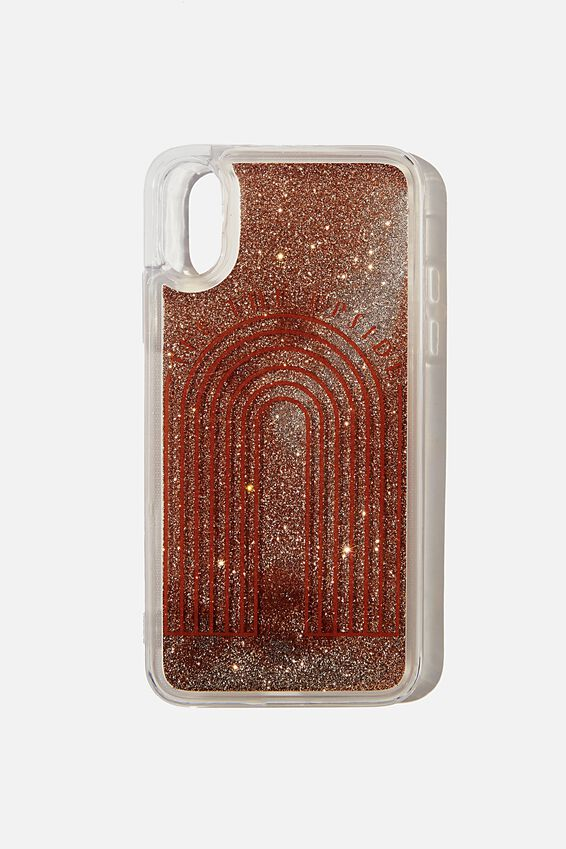 Shake It Phone Case Iphone X,Xs, SEE THE UPSIDE