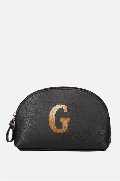 Alphabet Cosmetic Bag, G