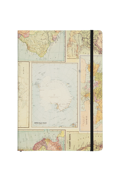 A4 Buffalo Journal, GRID WORLD MAP