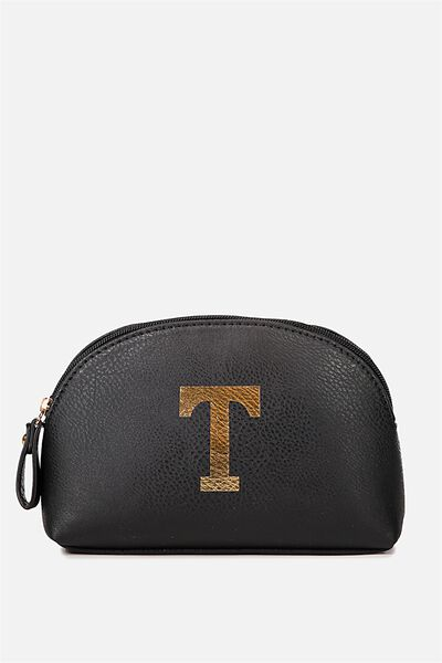 Alphabet Cosmetic Bag, T