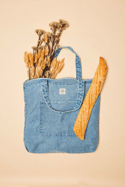 The Daily Tote Bag, DENIM
