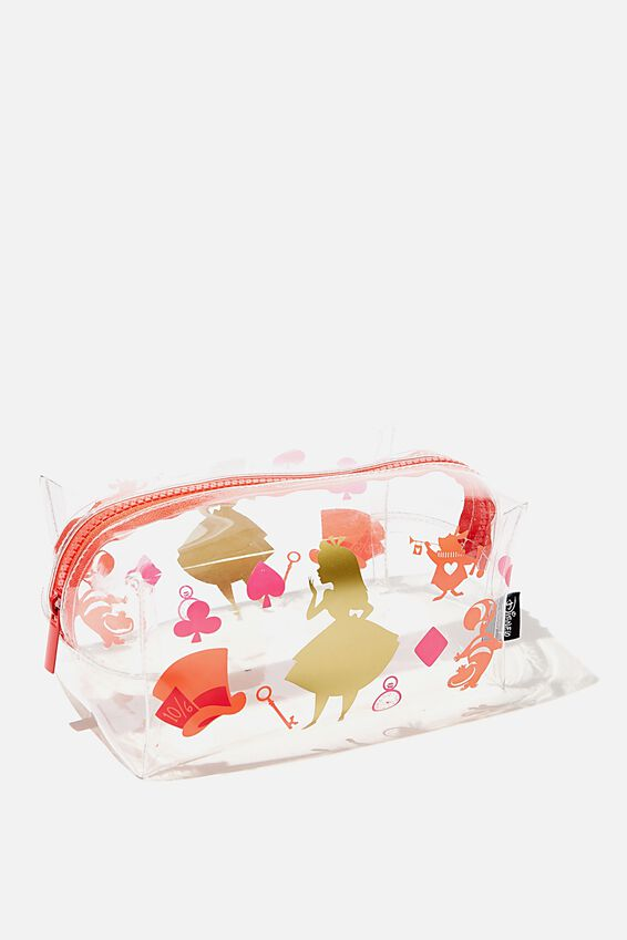 Disney Made Up Cosmetic Bag, LCN DIS CL ALICE YDG