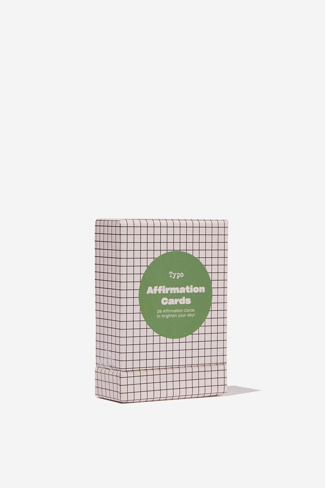 Affirmation Cards, DAILY AFFIRMATION GREEN
