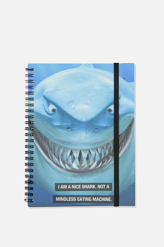 Disney Small Spinout Notebook - V, LCN DIS BRUCE