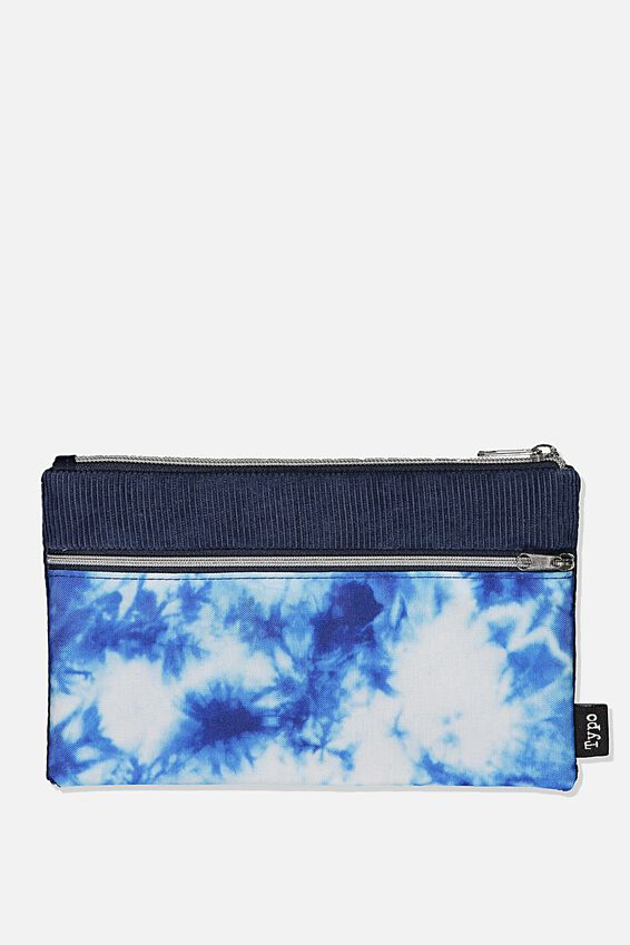 Archer Pencil Case, TIE DYE