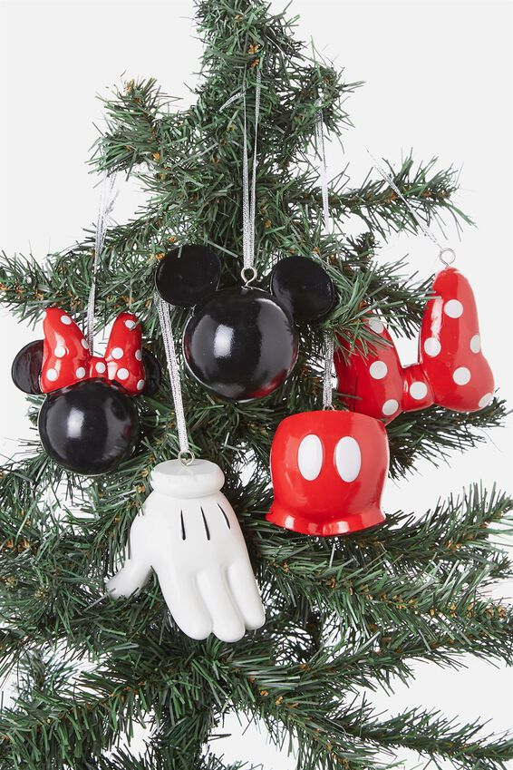 Licensed Christmas Ornament Pack, LCN MICKEY & MINNIE