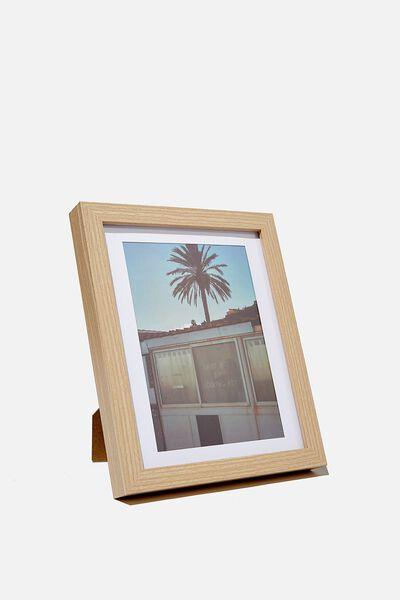 A5 Framed Print, LOOK AT ME