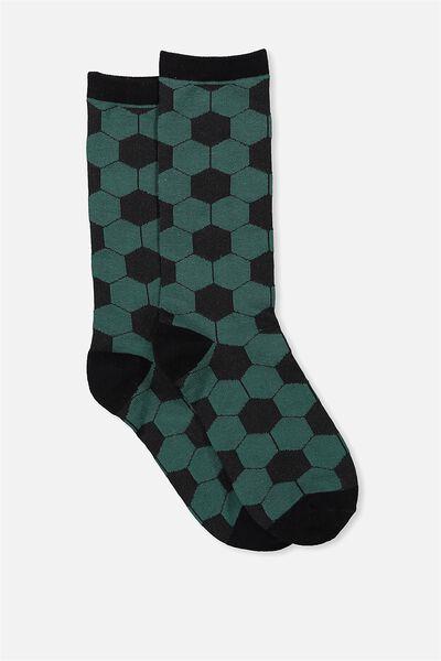 Mens Novelty Socks, SOCCER