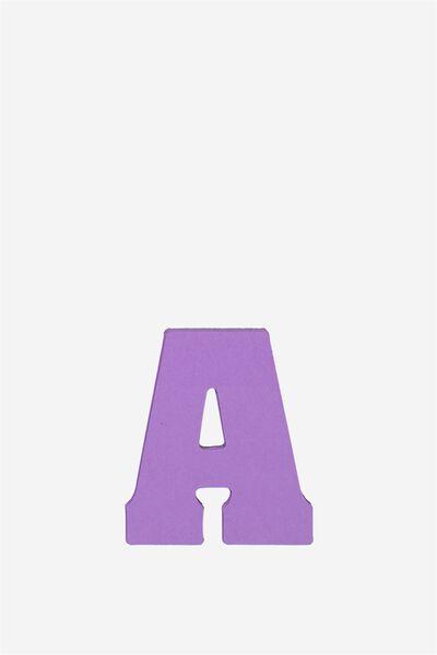 Alphabet Sticky Notes, A PURPLE
