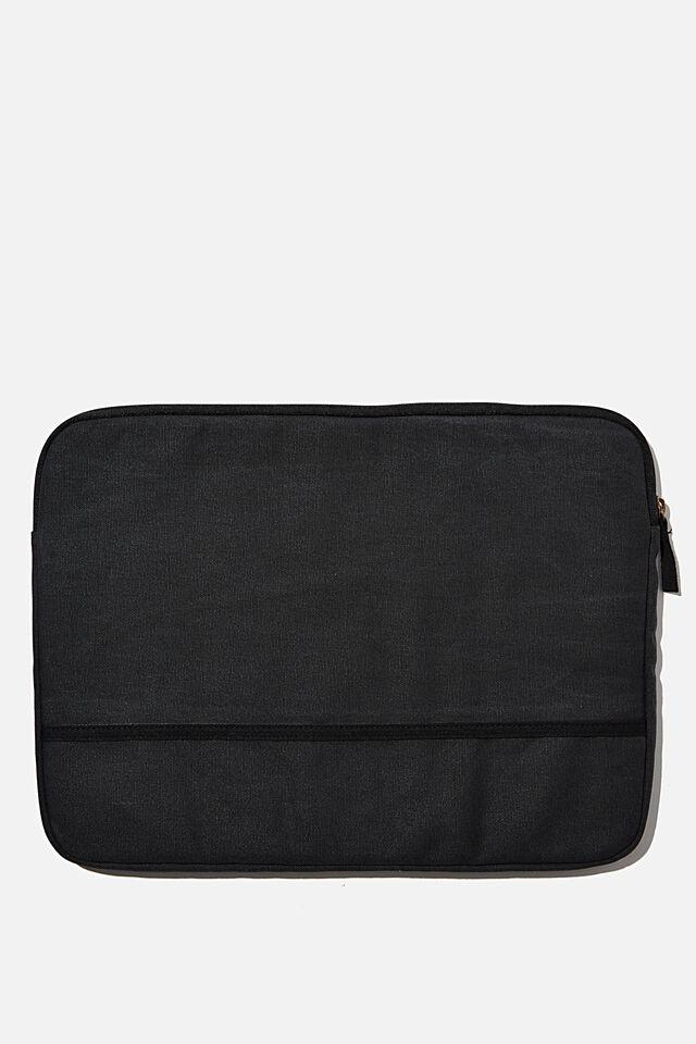 Take Me Away 15 Inch Laptop Case, WASHED BLACK