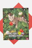 SCENTED MIND YOUR F*CKING BUSINESS KAREN CAT MEME!
