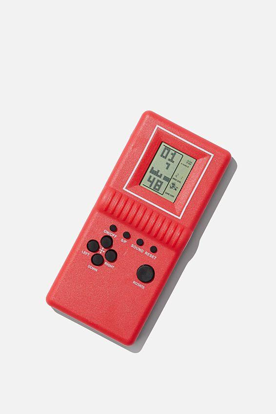 Nostalgic Block Gamer, RED