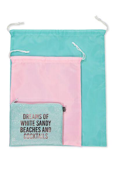 Get Organised Travel Bag, LACE & DREAMS!