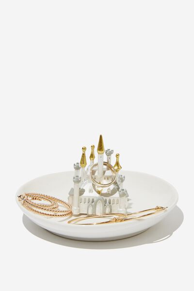 Novelty Trinket Tray, LCN DIS GN CASTLE