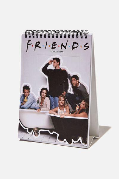 2021 Get A Date Flip Calendar, LCN WB FRIENDS