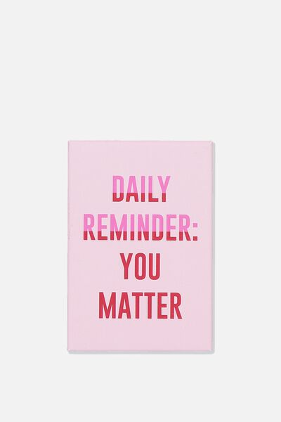 Quirky Magnets, YOU MATTER