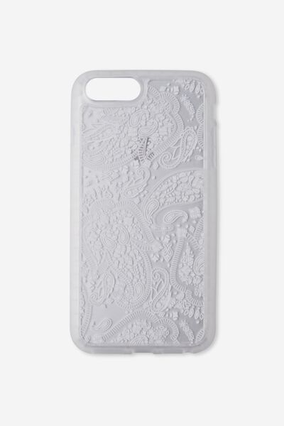 The Superior Phone Cover 6,7,8 Plus, WHITE LACE