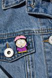 South Park Enamel Badge, LCN SOU SOUTH PARK WENDY