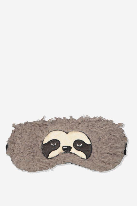 Premium Sleep Eye Mask, SLOTH FACE