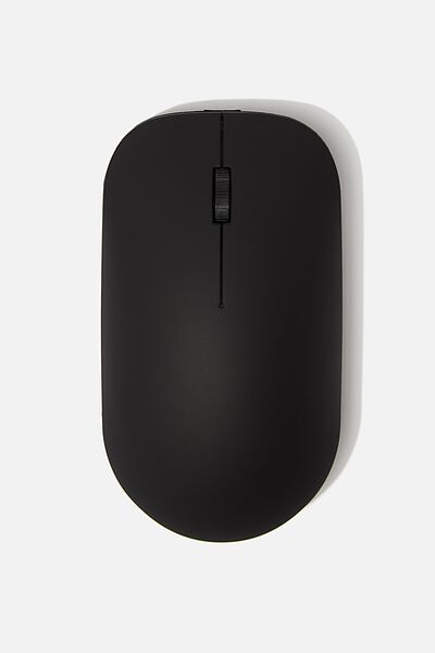 Wireless Mouse, MATTE BLACK