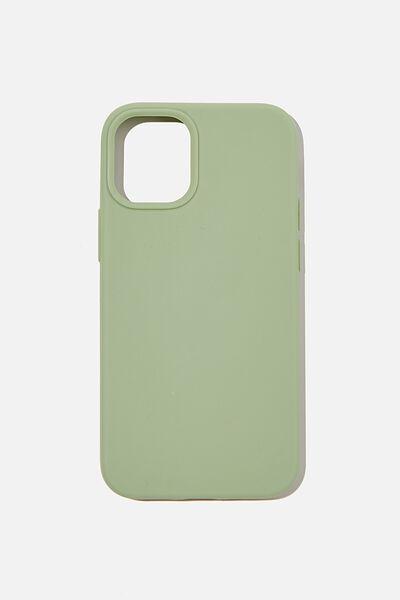 Slimline Recycled Phone Case Iphone 12 Mini, GUM LEAF