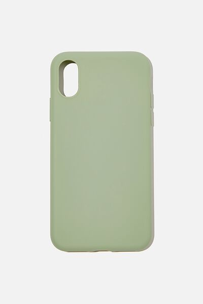 Recycled Phone Case iPhone X, Xs, GUM LEAF