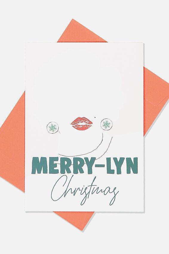 Christmas Card, PAR MARRY LYN