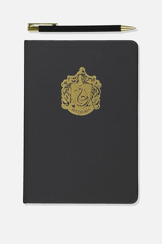Harry Potter Notebook and Pen Set, LCN SLYTHERIN