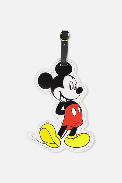 Shape Shifter Luggage Tag, LCN MICKEY