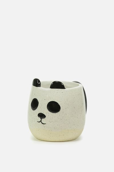 Novelty Shaped Mug, PANDA DIPPED