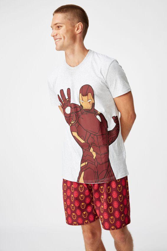 Marvel Novelty Pyjama Set, LCN MARVEL IRON MAN