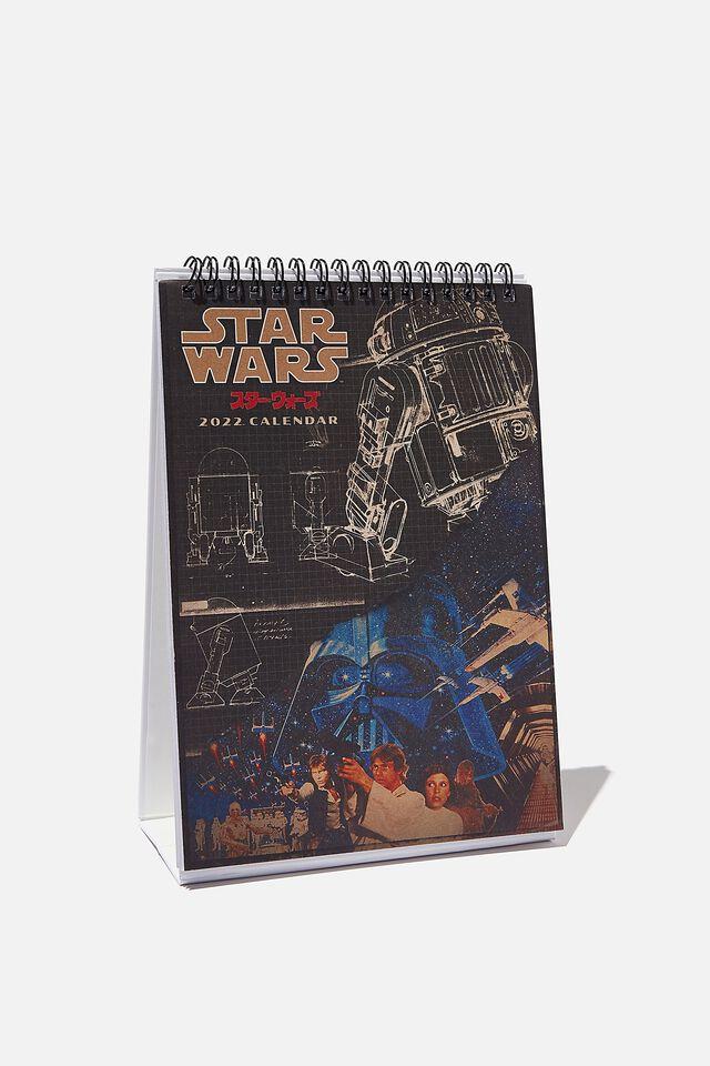 2022 Get A Date Desk Calendar, LCN LUC STAR WARS