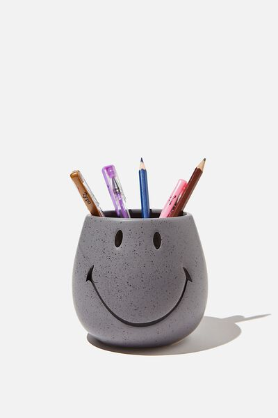 Licensed Pen Holder, LCN SMI SMILEY WELSH SLATE