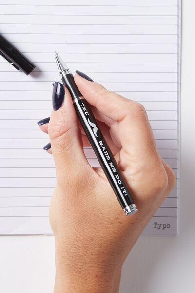 Little Pearla Pen, BLACK