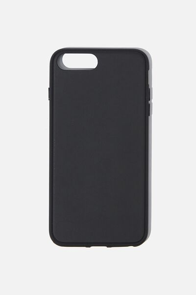 Snap On Protective Phone Case 6, 7, 8 Plus, MATTE BLACK