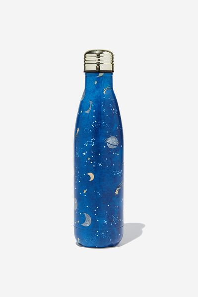 Metal Drink Bottle, COSMIC