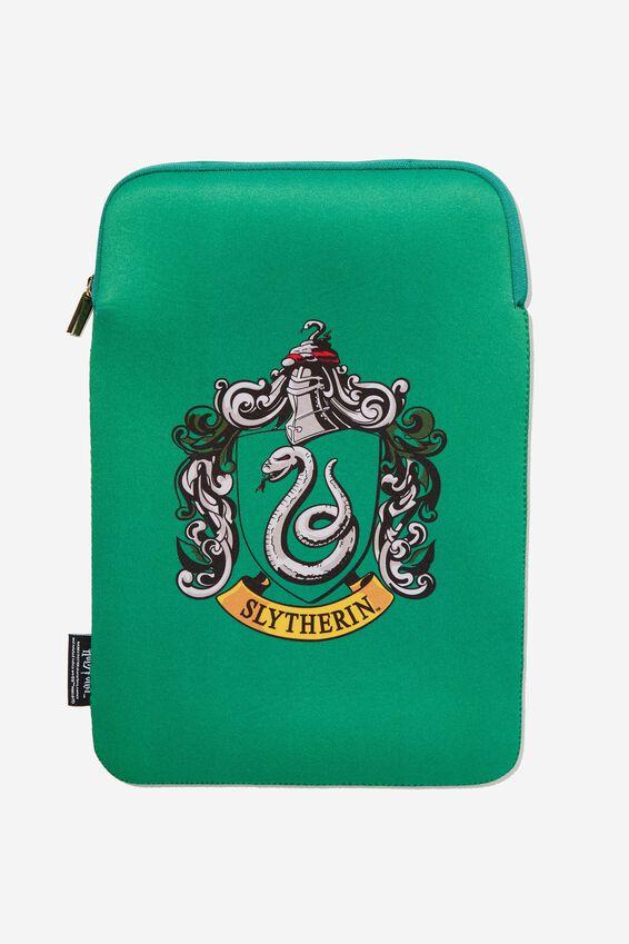 Harry Potter Laptop Sleeve 13 Inch, LCN WB SLYTHERIN