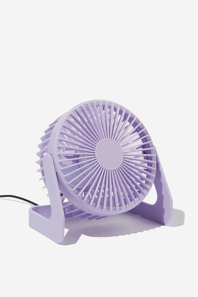 Mini Fan, PALE LILAC