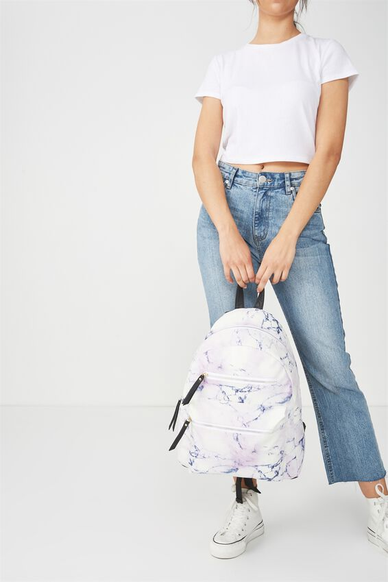 Campus Backpack, LUSH MARBLE