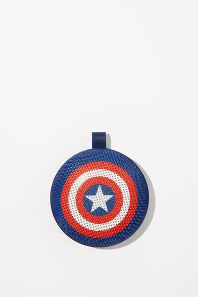 Waterproof Wireless Speaker, LCN MARVEL CAPTAIN AMERICA