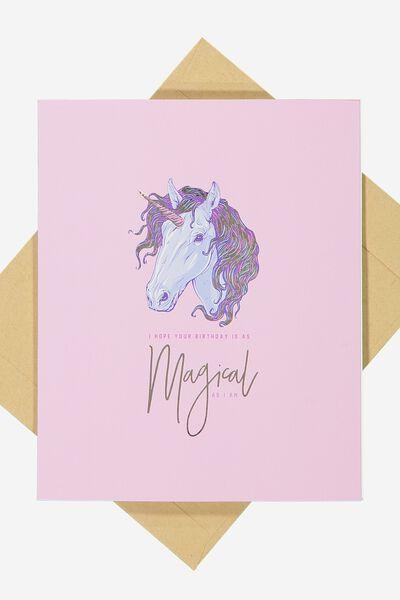 Nice Birthday Card, MAGICAL BIRTHDAY