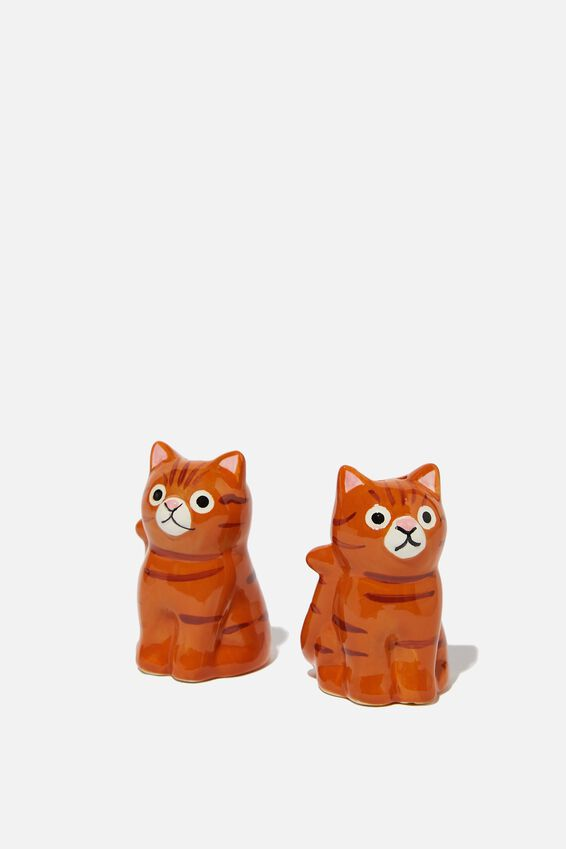 Salt & Pepper Shakers, KEVIN THE CAT