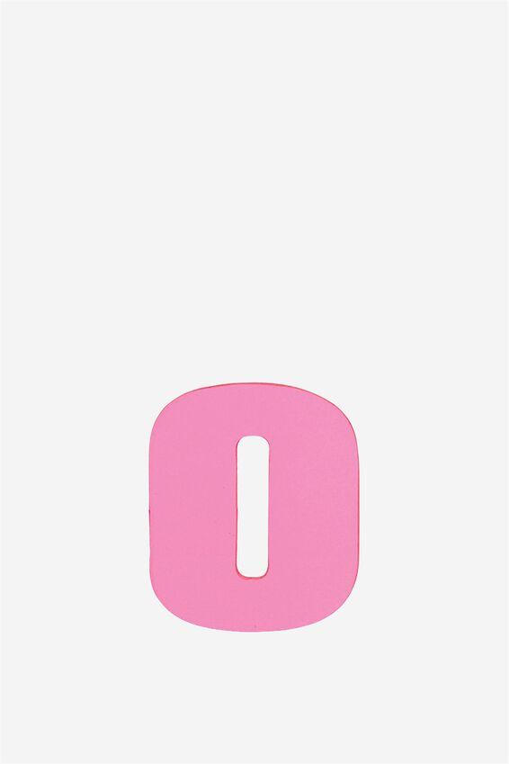 Alphabet Sticky Notes, O PINK