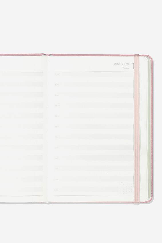 2020 A5 Weekly Buffalo Diary, BLUSH