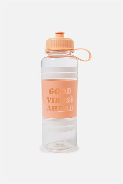 The Quencher Drink Bottle, GOOD VIBES AHEAD